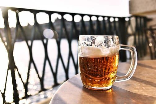 Cost leisure entertainment Prague beer