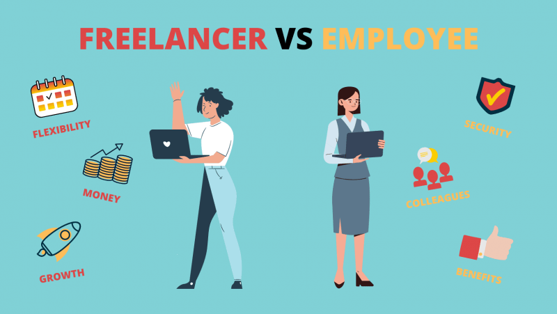 Pros and cons of being a freelancer